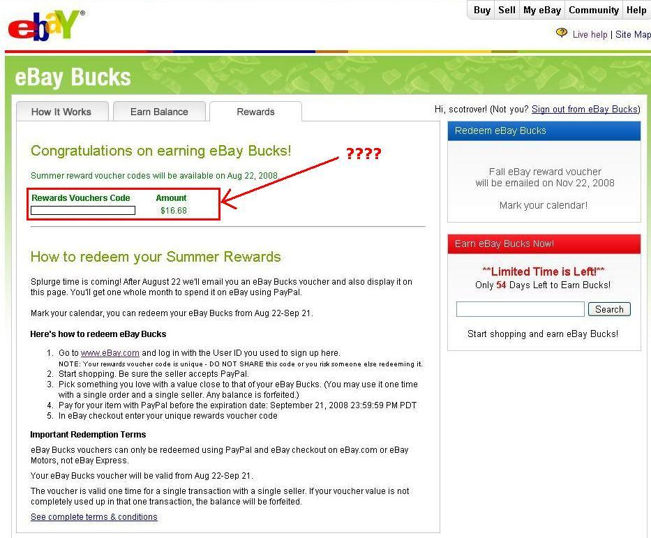 Update on eBay discount paypal coupon programs – Live search ...